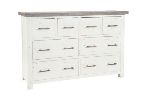 Purbeck 4 Over 4 Drawer Merchant Chest